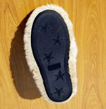 Moccasin. For Placing a notice Stock Image