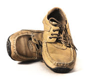 Moccasin shoes Stock Image