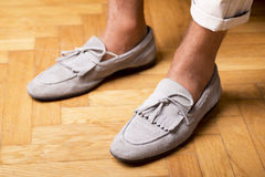 Moccasins shoes Royalty Free Stock Photo