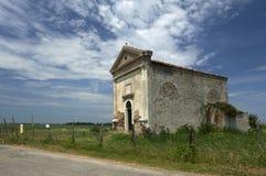 The Moceniga church Stock Image