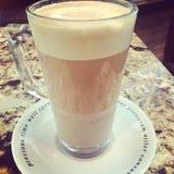 Mocha στη καφετερία Στοκ Εικόνες