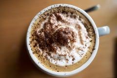 Mocha Café стоковое изображение