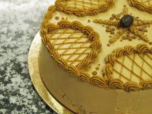 Mocha cake Royalty Free Stock Image