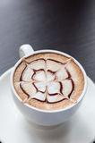 Mocha coffee drink Royalty Free Stock Images