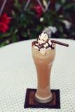 Mocha coffee frappe Stock Image