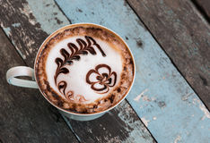 Mocha coffee Royalty Free Stock Photos
