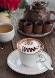Mocha coffee Royalty Free Stock Photography