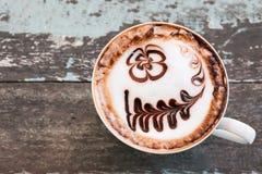 Mocha coffee Stock Image