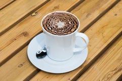 Mocha da xícara de café Fotografia de Stock
