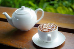 Mocha del caffè Immagini Stock