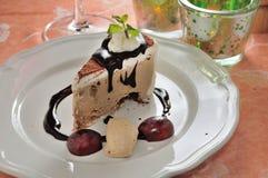 Mocha ice cream cake Stock Photography