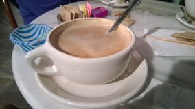 Mocha italiano da cafetaria Fotografia de Stock Royalty Free