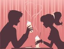 Mocha-liefde vector illustratie