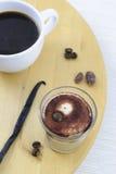 Mochaccino en vanille Stock Afbeeldingen