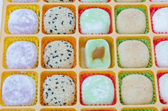 Mochi dessert isolated Royalty Free Stock Photography