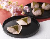 mochi sakura Fotografering för Bildbyråer