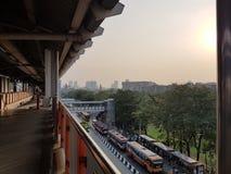 Mochit bts station Royaltyfri Foto