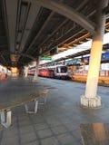 MoChit stacyjny samotny transport zdjęcie stock