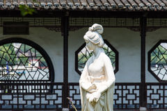 Mochou female statue Royalty Free Stock Photography