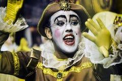 Mocidade Alegre - Carnaval - São Paulo, Brasile - 2015 Immagini Stock Libere da Diritti