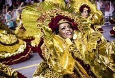 Mocidade Alegre - Carnaval - São Paulo, Brasile - 2015 Fotografia Stock