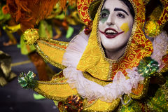 Mocidade Alegre - Carnaval - São Paulo, Brasilien - 2015 Royaltyfri Fotografi