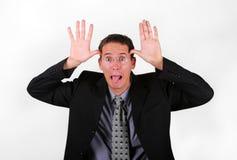 Mock business men Royalty Free Stock Images