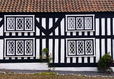 Mock Tudor house Stock Photos