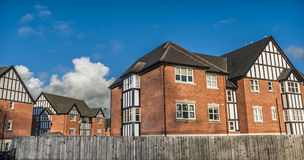 Mock Tudor Houses Stock Photos