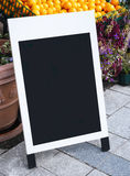 Mock up Blackboard Menu frame Cafe Restaurant Shop Stock Photography