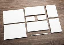Mock-up, blank branding elements Royalty Free Stock Photo