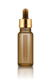 Mock-up of bottle with dropper royalty free illustration
