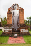 Mock up Buddha statue in Ancient City, Thailand Royalty Free Stock Image
