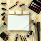Mock up business template. Toiletry. Royalty Free Stock Images