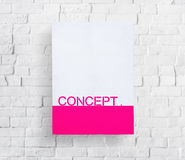 Mock Up Copy Space Wall Advertise Concept. Mock Up Copy Space Wall Advertise Royalty Free Stock Image