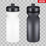 Mock-up Plastic Sport Nutrition Drink Bottle. Stock Photography