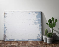 Mock up posters frames Royalty Free Stock Image