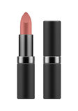 Mock-up of realistic pink lipstick. Royalty Free Stock Images