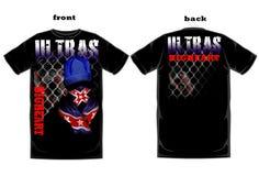Mock up t shirt design Royalty Free Stock Image
