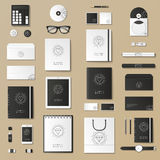Mock up vector set. Stock Photography