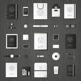 Mock up vector set. Royalty Free Stock Images