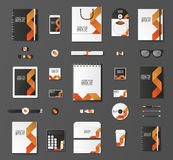 Mock up vector set. Royalty Free Stock Photography