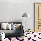 Mock up wall in interior with  sofa. living room. resting place. Modern style. 3d illustration Royalty Free Stock Photo