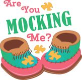 Mocking Me? Royalty Free Stock Photos