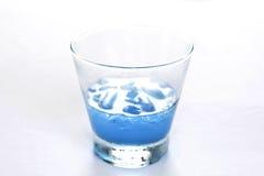 Mocktail błękita kamikadze Obraz Royalty Free