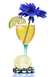 Mocktail glass Royalty Free Stock Photography