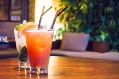 Mocktails stock foto's