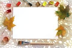 Mockup for art work presentation