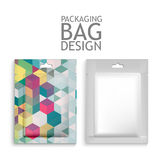Mockup Blank Foil Packaging Royalty Free Stock Image