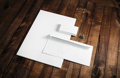 Mockup for branding identity Stock Photography